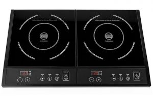 Double Induction Cooker in Nepal