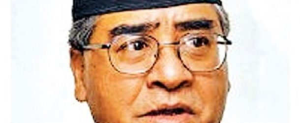 Sher Bahadur Deuba Biography