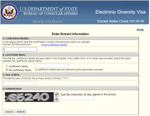 EDV Entrant Information Filling for result check
