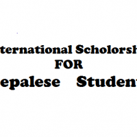 Scholarship for Nepalese students