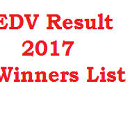 EDV Result 2017 Winners List